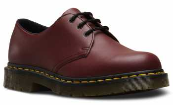 Dr. Martens DMR24381600 Unisex 1461, Cherry Red, Soft Toe, Slip Resistant Oxford