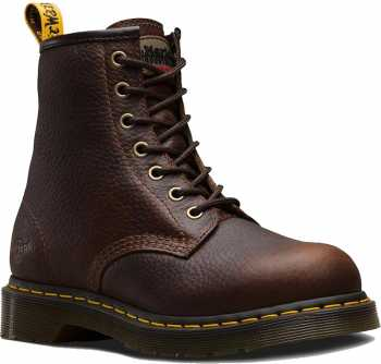 Dr. Martens Maple, Women's, Teak, Steel Toe, EH, 6 Inch, Zipper Boot