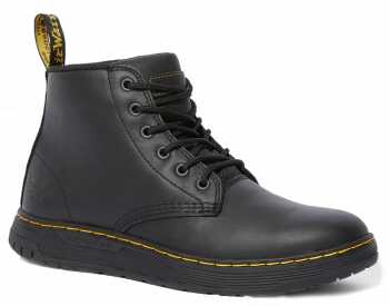 Dr. Martens DMR25126033 Amwell, Men's, Black, Soft Toe, 6 Inch