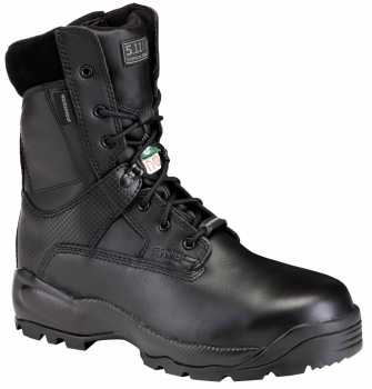 511 Tactical FEL12026 ATAC Shield, Men's, Black, Comp Toe, EH, PR, 8 Inch Boot