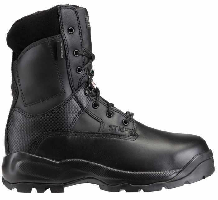 511 Tactical FEL12026 ATAC Shield, Men's, Black, Comp Toe, EH, PR, 8 Inch Boot