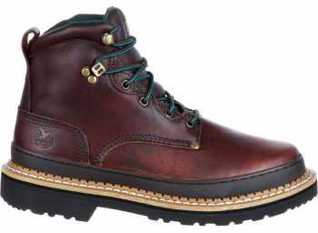 Georgia Boot GA6374 Georgia Giant, Men's, Brown, Steel Toe, EH, 6 Inch Boot