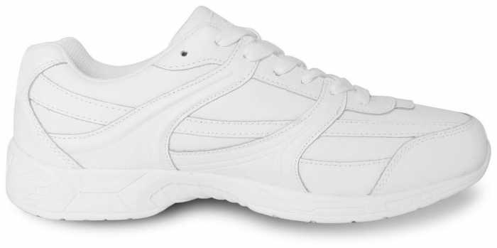 Genuine Grip GGM1015 Men's, White, Soft Toe, Slip Resistant, Athletic Oxford
