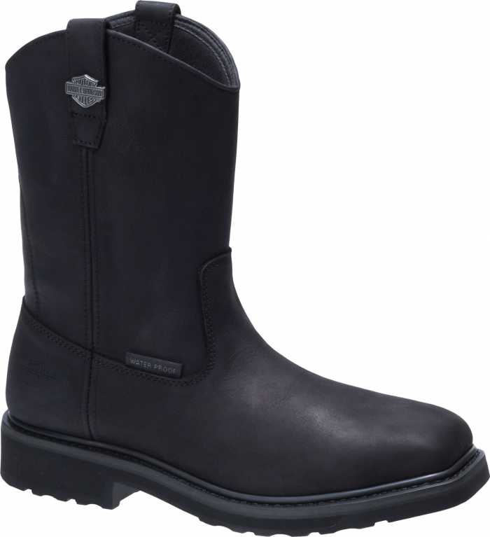 Harley Davidson HD93563 Altman, Men's, Black, Composite Toe, EH, Pull On Boot