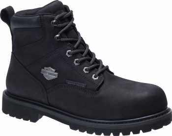 Harley Davidson HD93567 Gavern, Men's, Black, Comp Toe, EH, 6 Inch Boot
