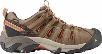 KEEN Utility KN1007970 Men's Flint Shitake/Rust Steel Toe, EH, Low Hiker
