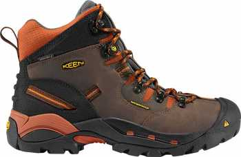 KEEN Utility KN1009709 Pittsburgh, Cascade Brown/Bombay Brown, Men's, Soft Toe, Waterproof Hiker
