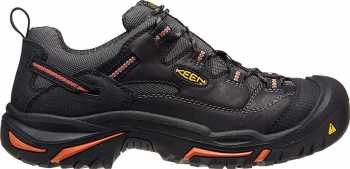 KEEN Utility KN1011244 Braddock Men's, Black/Bossa Nova, Steel Toe, EH, Low Hiker