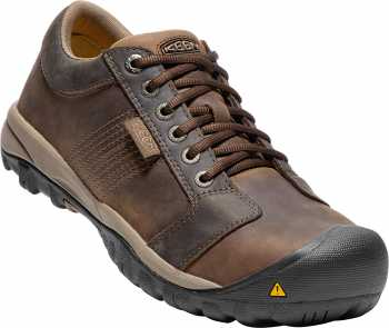 KEEN Utility KN1017824 La Conner, Men's, Brown, Aluminum Toe, SD, Casual Oxford