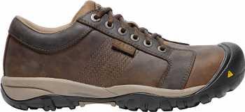 KEEN Utility KN1017824 La Conner, Men's, Brown, Aluminum Toe, SD, Casual Oxford
