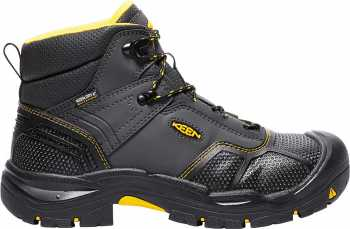 KEEN Utility KN1017828 Logandale Men's, Raven/Black, Steel Toe, EH, Waterproof Hiker