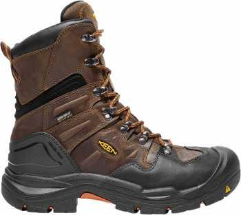 Keen 1017833 Coburg, Men's, Cascade Brown/Brindle, Steel Toe, EH, Waterproof Boot