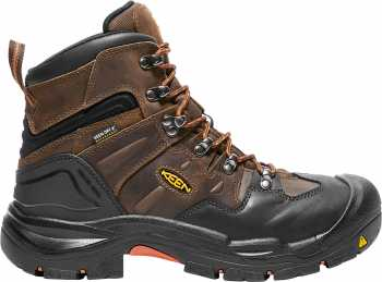 KEEN Utility KN1018023 Coburg, Men's, Brown, Steel Toe, EH, WP, 6 Inch Boot