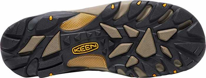KEEN Utility KN1018079 Lansing, Men's, Raven/Tawny Olive, Steel Toe, EH Hiker