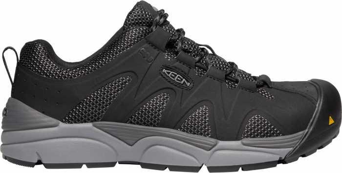 KEEN Utility KN1021343 San Antonio, Men's, Black/Steel Grey, Aluminum Toe, SD Oxford