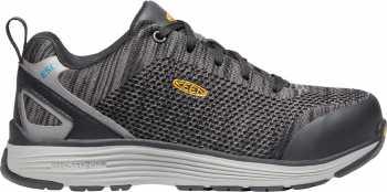 KEEN Utility KN1021350 Sparta, Women's, Black/Grey Flannel, Aluminum Toe, SD Athletic