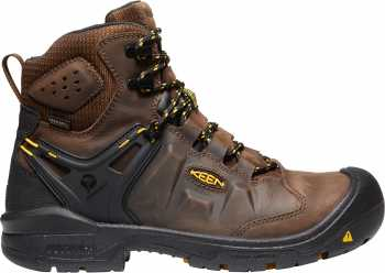 KEEN Utility KN1021467 Dover, Men's, Earth/Black, Comp Toe, EH, WP, 6 Inch Boot