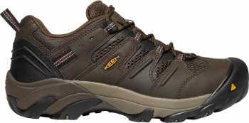 KEEN Utility KN1023205 Lansing, Men's, Brown/Brick, Steel Toe, EH, Low Hiker