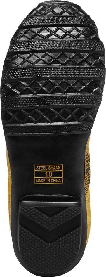 LaCrosse 24009091 Men's Black/Yellow 32 Inch Waterproof, Steel Toe, Hip Boot