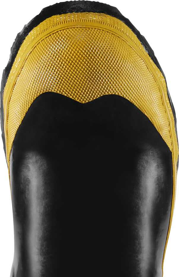LaCrosse 24009091 Men's Black/Yellow 32 Inch Waterproof, Steel Toe, Hip Boot