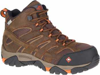 Merrell MLJ11617 Moab Vertex, Men's, Clay, Comp Toe, EH, WP Hiker