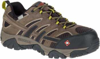 Merrell MLJ15773 Moab 2 Vent Men's, Boulder, Comp Toe, EH, Waterproof, Low Hiker