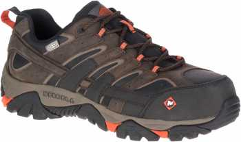 Merrell MLJ46651 MOAB 2, Men's Espresso, Comp Toe, SD, Low Hiker