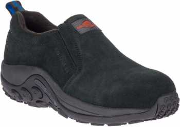Merrell MLJ62382 Jungle Moc, Women's, Black, Alloy Toe, EH, Casual Slip On