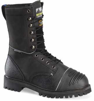 Matterhorn MT903 Mulrooney, Men's, Black, Steel Toe, EH, Mt, PR, WP, 10 Inch Boot