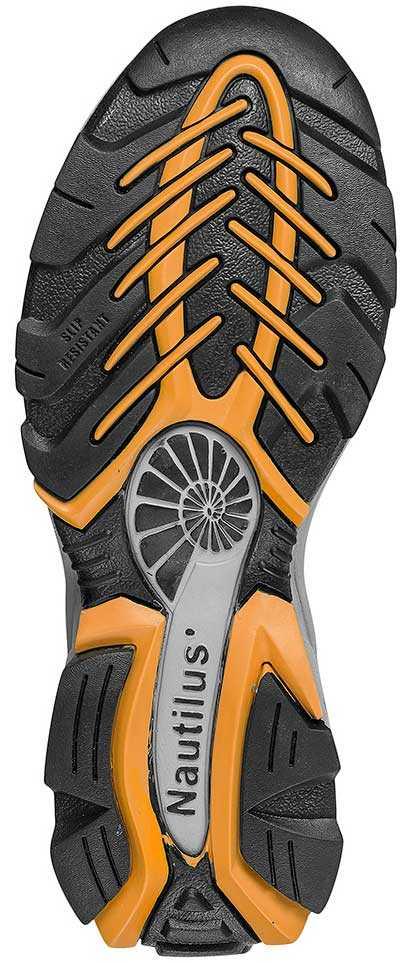 Nautilus N1333 Men's, Black/Grey, Steel Toe, SD, Athletic Oxford