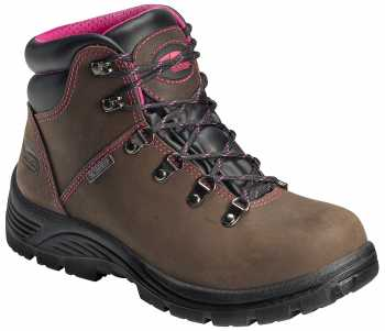 Nautilus/Avenger N7125 Women's, Brown, Steel Toe, EH, WP Hiker