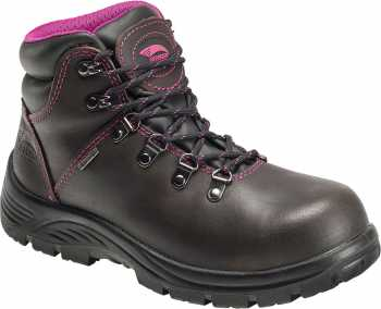 Avenger N7125 Women's, Brown, Steel Toe, EH, WP Hiker