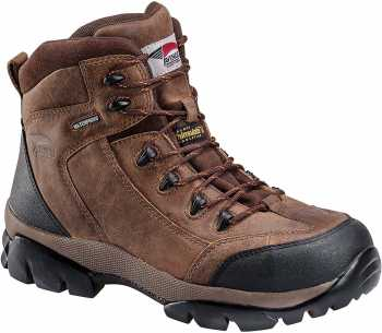Nautilus/Avenger N7264 Men's, Brown, Comp Toe, EH, WP/Insulated, 6 Inch Boot