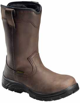 Nautilus/Avenger N7846 Men's, Brown, Comp Toe, EH, WP, Pull On Boot