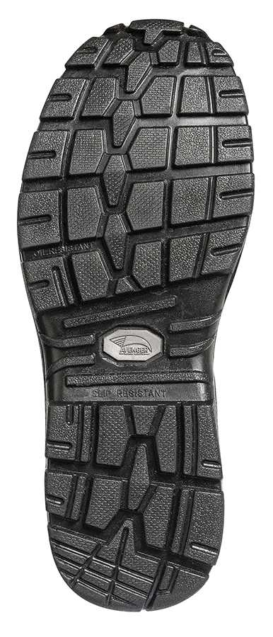 Nautilus/Avenger N7847 Men's, Black, Comp Toe, EH, WP, Pull On Boot
