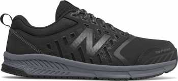 New Balance NBMID412B1 Men's, Black/Silver, Alloy Toe, Slip Resistant Athletic