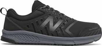 New Balance NBMID412B1 Men's, Black/Silver, Alloy Toe, Slip Resistant Athletic