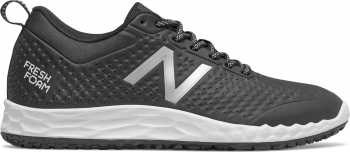 New Balance NBMID806W1 Fresh Foam, Men's, Grey/White, Slip Resistant, Work Shoe
