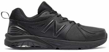 New Balance MX857AB2 Men's Motion Control Trainer, Black, Soft Toe, Slip Resistant Athletic