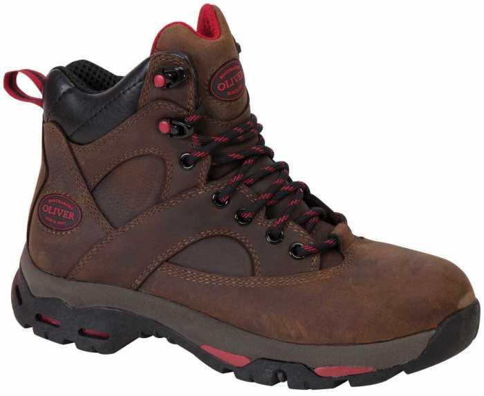 Oliver OL24011 Women's Brown, Steel Toe, EH, 6 Inch Boot