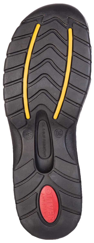 Oliver OL49431 Women's, Brown, Steel Toe, SD, Twin Gore Slip On