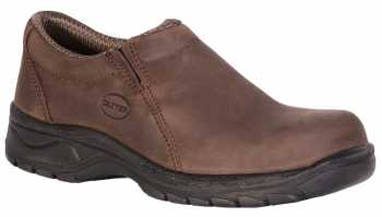 Oliver OL49431 Women's, Brown, Steel Toe, SD, Twin Gore Slip On