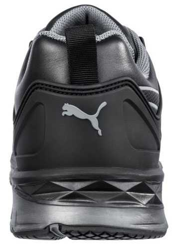 Puma PU643845 Velocity 2.0, Men's, Black, Fiberglass Toe, SD, Low Athletic