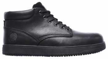 SKECHERS Work SK77127BOL Amokine, Men's, Black, Steel Toe, EH, Chukka