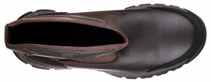SKECHERS Work SK77148BRN Men's Brown, Comp Toe, EH, Wellington