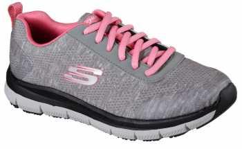 a0773a5716 Skechers Work SK77217NVPK Navy Pink Comfort Flex Pro HC Soft Toe ...