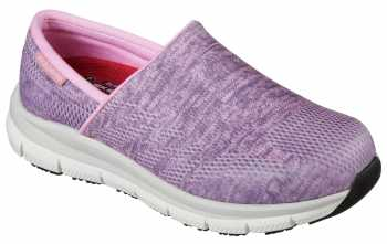 SKECHERS Work SK77239PINK Comfort Flex Pro, Women's, Pink, Soft Toe Slip On