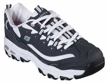 SKECHERS Work SK77263NVW Health Care Pro, Women's, Navy/White, Soft Toe Athletic