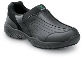SR Max SRM140 Charlotte Women's Black Slip Resistant Slip On Casual
