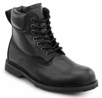 SR Max SRM5510 Duluth, Men's, Black, Slip Resistant, Waterproof, Soft Toe 6 Inch Work Boot